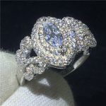 <b>Handmade</b> Butterfly ring 925 Sterling silver 5A Sona Cz Engagement wedding band rings for women Bridal <b>Jewelry</b>