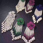 natural fresh water pearl tassels brooch pins 925 <b>sterling</b> <b>silver</b> with cubic zircon flower Cute romantic fashion women <b>jewelry</b>