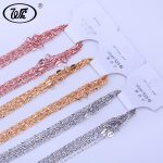 WK 10PCS LOT 1MM 925 Sterling <b>Silver</b> Slim Rose Gold Color Golden Chain <b>Necklace</b> Wholesale Jewellery Mix Lots Collares S925 NA011