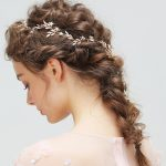 Dower me Vintage Gold Leaf Hair Vine Pins Bridal Headband Wedding Hair Accessories Pearls Women <b>Jewelry</b>