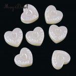 MagiDeal High Quality 50Pcs Plastic Embellishments Heart Scrapbook Sewing Craft for <b>Jewellery</b> Bags Headband Wedding Party <b>Decor</b>