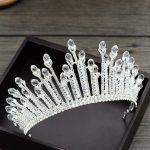 Wedding Tiara Crown hairbands Bride Wedding Diadem Headband Princess Tiaras and Crowns <b>handmade</b> hair <b>jewelry</b> accessories