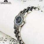 GAGAFEEL 925 Sterling <b>Silver</b> Watches Women's Ladies' Quartz <b>Bracelet</b> Watch Fashion <b>Silver</b> Clock Relojes Mujer 2017 Saatler