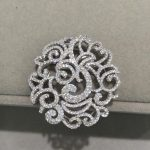 Top quality 925 silver with cubic zircon <b>Jewelry</b> Findings components connectors For necklace <b>Fashion</b> women <b>jewelry</b>
