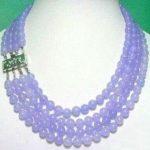 Charming! 2017 new 4 Rows 8MM Alexandrite Necklace Rope Chain Beads Fashion <b>Jewelry</b> <b>Making</b> Design Natural Stone (Minimum Order1)
