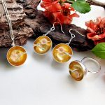 Lotus Fun Moment Real 925 Sterling <b>Silver</b> Natural Shell Handmade Fashion The Aroma of Wintersweet Jewelry Set for Women Brinco