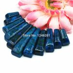 40x10mm Hot Sale Accessories Azurite Chrysocolla Sets Pendants DIY Loose Beads Stone Women <b>Jewelry</b> <b>Making</b> Design Christmas Gifts