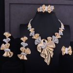 GODKI Luxury Super Big Bowknots Women Nigerian Wedding Bride Cubic Zirconia <b>Necklace</b> Dubai 4PCS <b>Jewelry</b> Set Jewellery Addiction