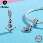 Authentic 100% 925 Sterling Silver Ocean Anchor Charms Fit Original 925 Bracelet Necklace Women Pendant <b>Jewelry</b> <b>Making</b>