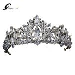 Retro Tiara Crown Vintage <b>Wedding</b> Hair Accessories Hair <b>Jewelry</b> Alloy Tiaras Beauty Royal Queen Crown Bridal <b>Jewelry</b> Hair