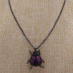 3 pieces ladybug pendants necklace for lady Bee pendants big size bee <b>jewelry</b> <b>making</b> mix color pendants pets beads 2682