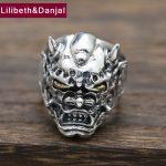 100% Real 925 Sterling Silver Men <b>Jewelry</b> Ring Trendy <b>Handmade</b> Buddha Finger Male Ring Punk Lord Of The Rings Fine <b>Jewelry</b> FR63