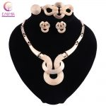 2018 Fashion African Big Beads <b>Jewelry</b> Set for Women Bride Wedding <b>Accessories</b> Necklace Earrings Ring Bracelet Sets