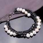 SINZRY 2018 NEW <b>handmade</b> druzy natural stone beads bracelet multi layer fresh pearl bracelets elegant <b>jewelry</b> for female