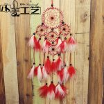 polycyclic pendant <b>jewelry</b> Dreamcatcher Home Furnishing hanging decoration feather gift