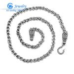 <b>Fashion</b> <b>jewelry</b> High quality 55CM statement necklace and Chain diameter 7mm clasp 19.8*10.21*4.1mm <b>jewelry</b> style XLT002H20