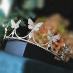 Micro Paved Butterfly Full Zircon Tiara Bride CZ Crown Diadem <b>Wedding</b> Hair Accessories <b>Jewelry</b> Bridal Tiaras Coroa WIGO0950