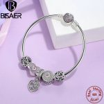 Genuine 925 Sterling <b>Silver</b> Snake Charm Bracelet & Bangle Love Beads Mom Mother Gift Heart Snake Bangle Sterling <b>Silver</b> <b>Jewelry</b>