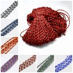 4mm Rock Climbing Ropes, Polyester & Polypropylene Paracords for <b>Jewelry</b> <b>Making</b> DIY Findings; about 100m/bundle; 420~500g/bundle