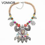 VONNOR Necklace <b>Jewelry</b> Women Statement Necklaces & Pendants Bohemian Female <b>Accessorie</b> Alloy Shells Necklaces Gift Dropshipping