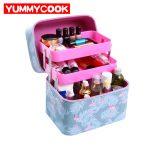 Women's Multi Layer Makeup Organizer Cosmetic Storage Box <b>Jewelry</b> Case Travel Toiletry Case Wholesale Accessories <b>Supplies</b> Stuff