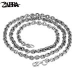 Real Solid 925 Sterling <b>Silver</b> Chain <b>Necklace</b> Pendant Men Women Engraved Scripture Vintage Accessories Fashion Fine Jewellery