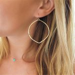 Big Hoop Earrings <b>Handmade</b> Vintage <b>Jewelry</b> Customize 14 Gold Filled Orecchini Brincos Pendientes Earrings for Women Oorbellen