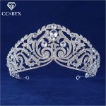 CC tiaras and crowns hairbands luxury handmade crystal vintage baroque <b>wedding</b> hair accessories for women party <b>jewelry</b> HG532