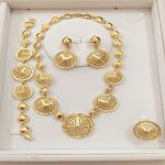 KINGDOM MA wholesale <b>Jewelry</b> Sets For Women African Costume Wedding Bridal Pendant Statement Necklace Earrings <b>Accessories</b>