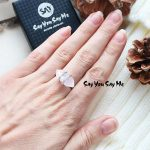 925 Sterling <b>Silver</b> Big Natural Stone Rings Say You Say Me Wedding&Engagement Luxury <b>Jewelry</b> Ring 2018 Fashion Best Gifts
