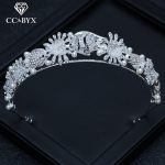 CC <b>wedding</b> <b>jewelry</b> tiaras and crowns hairbands new design engagement hair accessories for bridal special rhinestones stone XY280