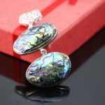 23*32mm Natural abalone seashells sea shells pendant stripe women girls gifts Accessories Series <b>jewelry</b> <b>making</b> crafts DIY