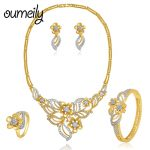 OUMEILY <b>Jewelry</b> Sets For Women Wedding <b>Jewelry</b> Fashion Bridal African Beads <b>Jewelry</b> Set Nigerian Dubai Decorations Jewellery
