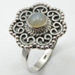 PURE SILVER OPAL <b>Handmade</b> RING SIZE 9.25 ! Girls' <b>Jewelry</b>