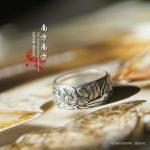 Sterling silver ring <b>jewelry</b> s990 999 silver LAOYINJIANG <b>handmade</b> thai silver vintage Women ring,free shipping