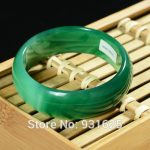 Natural Green Wider 20-22mm Bangle <b>Handmade</b> Woman's Bracelet Fashion Green Bangles Fine <b>Jewelry</b> 57-60mm