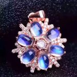 Natural Multicolor opal gem jewelry sets natural gemstone ring Pendant 925 <b>silver</b> Luxury mystical wheel women fine party jewelry