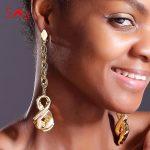 Sunny <b>Jewelry</b> <b>Fashion</b> <b>Jewelry</b> 2018 Long Drop Dangle Earrings For Women Copper High Quality <b>Fashion</b> Brazilian For Party Wedding