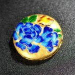 Fashion Jewelry S925 925 sterling <b>silver</b> China Tradiational Cloisonne Enamel Cloisonne Beads Charms for Pendant <b>Earrings</b> Rings