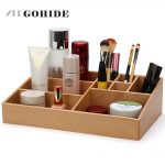 JUH A Multifunctional Wooden Table Sundries Container Cosmetics Storage Box Desktop Office <b>Supplies</b> <b>Jewelry</b> Organizer ZLCP