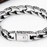 Rich s925 <b>silver</b> male buckle clip bracelet thai <b>silver</b> vintage <b>silver</b> <b>jewelry</b> wristiest