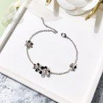 Fashion Clover Flower Charm Bracelet For Women Girl Bracelet Adjustable Pulseras Mujer <b>Wedding</b> Bridal <b>Jewelry</b> Gift Silver Gold
