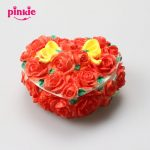 Beautiful flowers Heart shapes 3D Silicone flower box molds for <b>making</b> the <b>jewelry</b> boxes and <b>jewelry</b> boxes