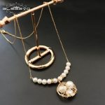 GLSEEVO Natural Fresh Water Baroque Pearl <b>Necklace</b> For Women <b>Necklaces</b> & Pendants Luxury Fine Jewellery Collares Bijoux GN0054