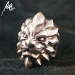 Customized Top Quality The Lion King Ring 925 Silver Rings for Men Animal <b>Jewelry</b>