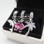 3pcs Fashion S925 Silver Dolphin Palm Trees Dangle Charms Beads <b>Jewelry</b> Set Fit DIY Bracelet Necklaces <b>Jewelry</b> <b>Making</b> Woman Gift