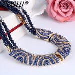 2017 New women bohemia necklace&pendants multicolor statement choker necklace za <b>antique</b> tribal ethnic boho <b>jewelry</b> mujer bijoux