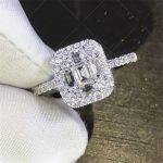 <b>Handmade</b> Lady 100% Soild 925 Sterling Silver ring Baguette 5A zircon Stone cz Engagement Wedding Band Ring for women men <b>Jewelry</b>