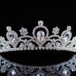 Sparkling Flower Tiara Diadem Clear Austrian Rhinestones Crystal Crown Wedding Brides Headband Hair <b>Jewelry</b> Pageant Prom Party