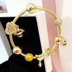 New Collection Good Quality Luxurious <b>Silver</b> <b>Jewelry</b> Gifts Gold Shine 925 <b>Sterling</b> <b>Silver</b> Honeycomb Charms Bracelet For Girls